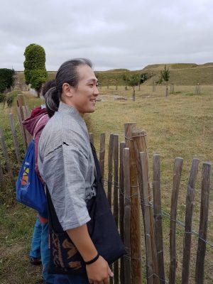 Aoki sensei in Calais