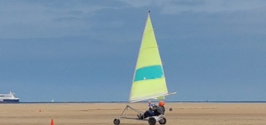 Speed sailing in Calais