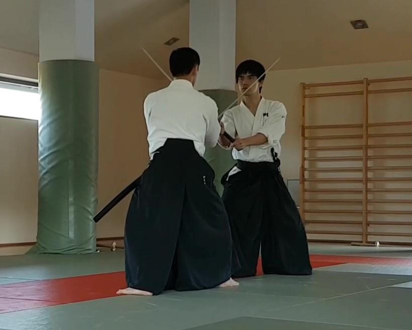Tsuba-zeri von Udagawa Kancho und Minatomoto